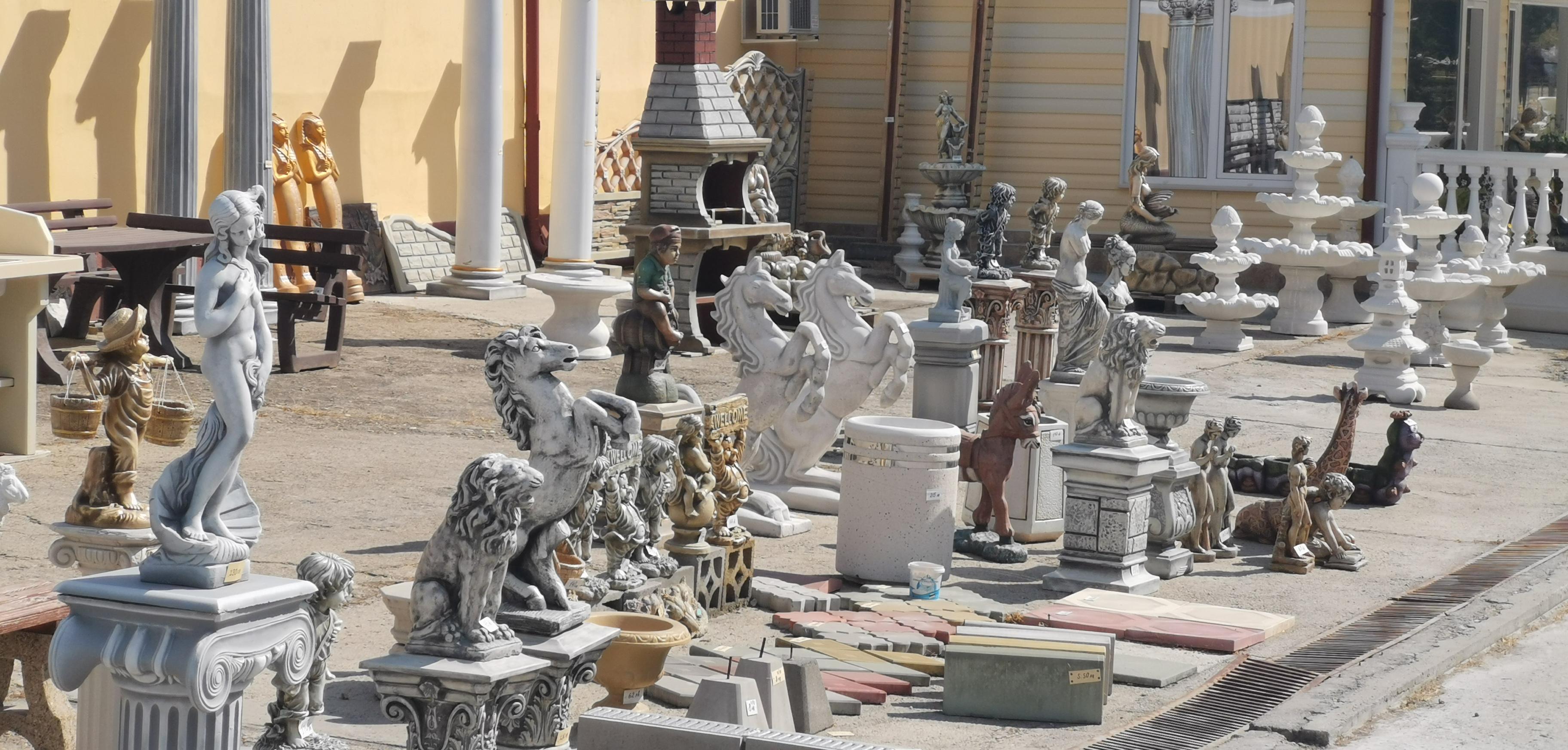 Бетонови статуй