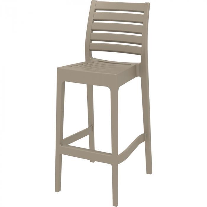 Бар стол полипропилен с фибростъкло