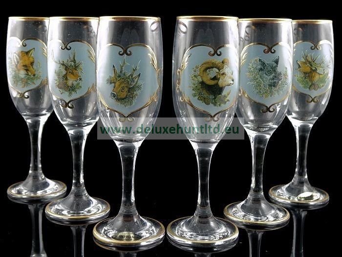 Чаши за шампанско - Свети Хуберт