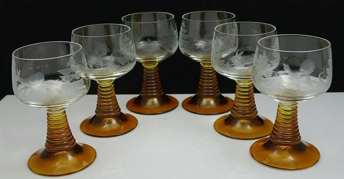 Гравирани кристални чаши с животни